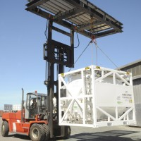 portable tank installation