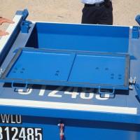 5 ton mud cutting skip container