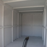 inside high cube container