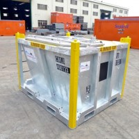 container skip mud cutter