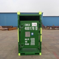 green gas rack container