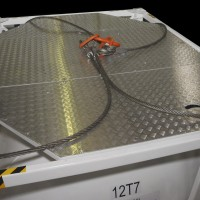 lift cables for portable container