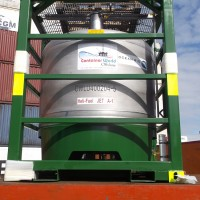 fuel tank container